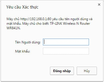 Cách thay đổi mật khẩu wifi