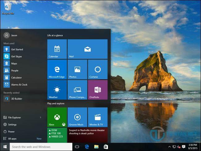 Hoàn thành nâng cấp Windows 10