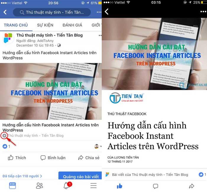 facebook instant articles wordpress