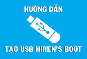 Cách tạo USB boot với Hirent's Boot CD 15.2 mới nhất