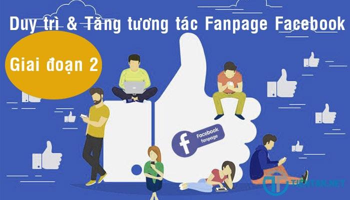 Tăng tương tác cho Fanpage Facebook