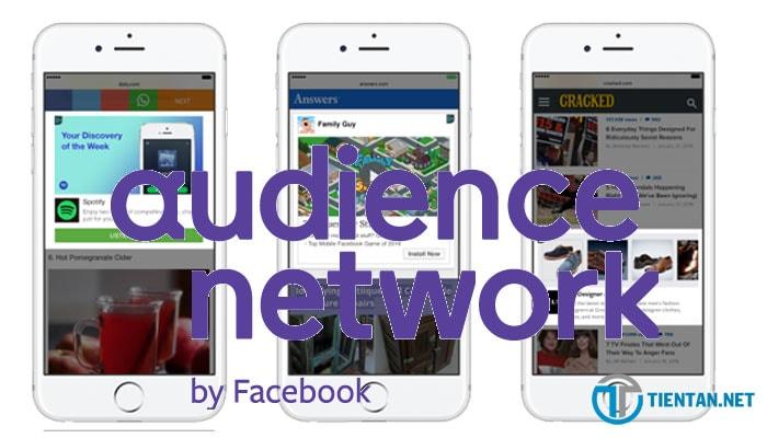 kiếm tiền từ Facebook Audience Network