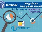 Nâng cấp lên trình quản lý kiếm tiền trên Facebook Audience Network