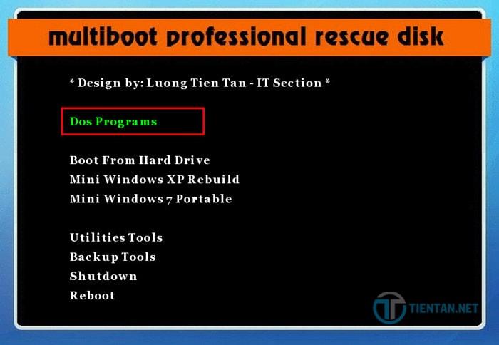 Bẻ khóa mật khẩu Windows 10, 8,7 bằng Hirent's Boot CD