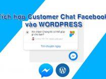 Tích hợp Customer Chat Facebook vào website WordPress mới nhất