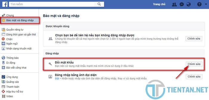hướng dẫn thay đổi mật khẩu facebook trên máy tính mới nhất 2018