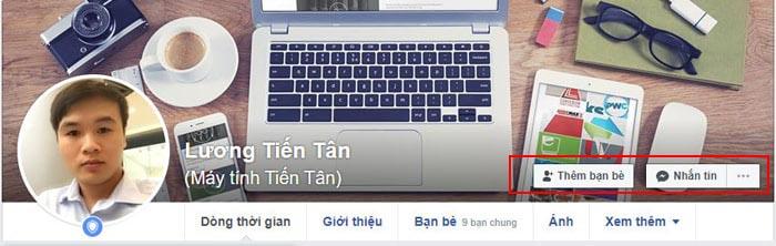 Bật nút theo dõi facebook trên trang cá nhân