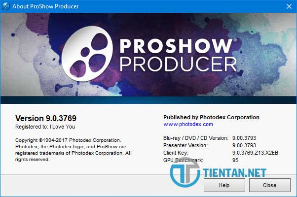 hướng dẫn cách active proshow producer 9 thành công 100%