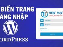 Thay đổi và tùy biến trang đăng nhập WordPress đơn giản
